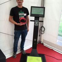 Feetbox - Kiosque d'analyse du pied