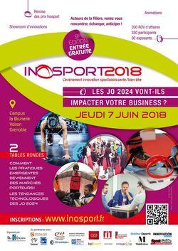 Découvrez les thématiques d'Inosport 2018