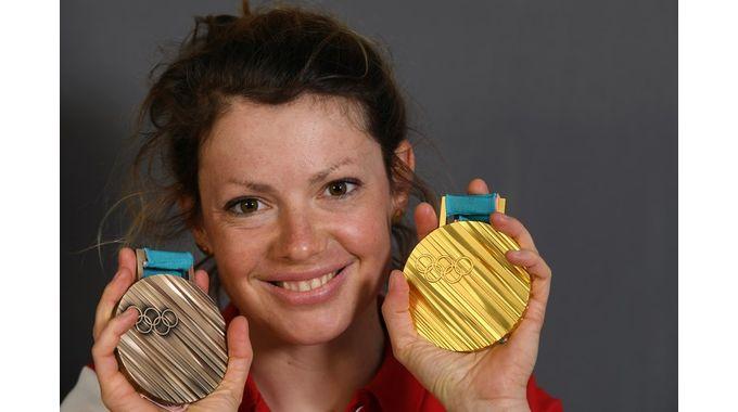 Marie Dorin-Habert, marraine d'Inosport 2018