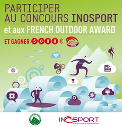 Derniers jours pour les inscriptions aux Prix Inosport et au show-room des innovations.