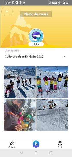 Les Bâtons - Ecole de ski