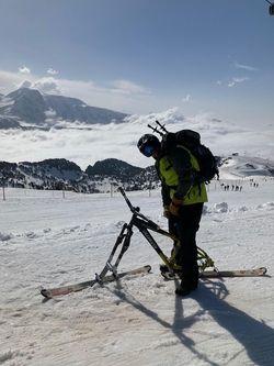 Vélo ski rando