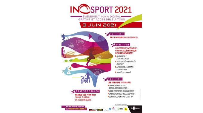 Inosport tiendra sa 12ème édition sous un format 100% digital le 3 juin 2021